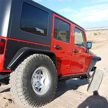 MetalCloak Rear JK Fenders