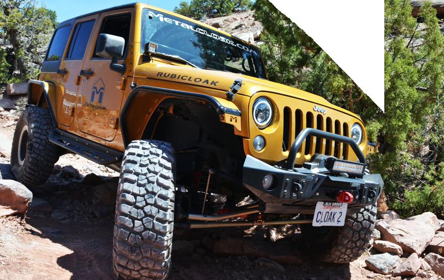 Metalcloak JK Wrangler Jeep Suspensions & Lift Kits