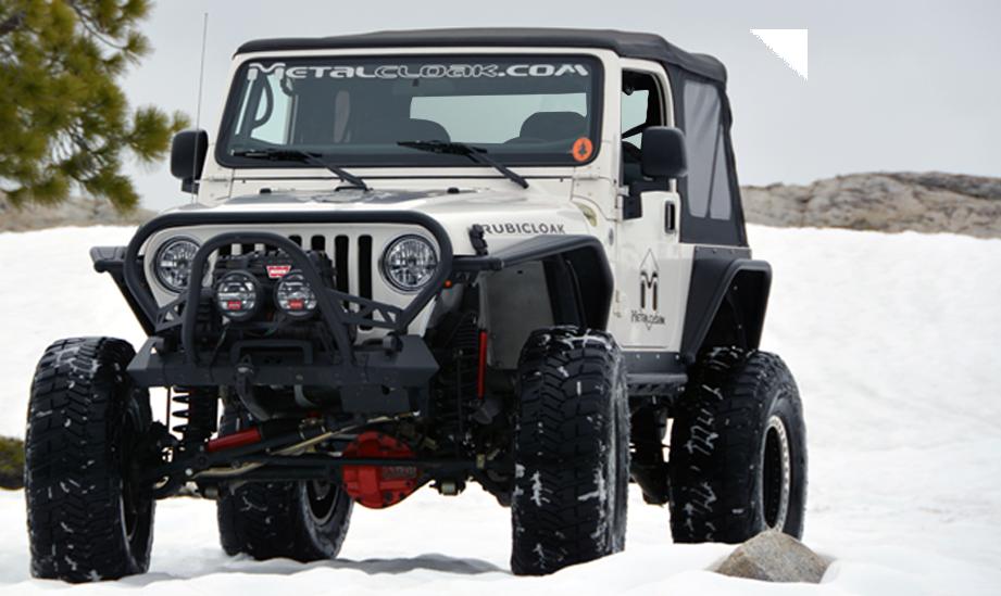 Metal Jeep Fenders >> TJ/LJ Wrangler Most Popular Frame-Built Jeep Bumpers