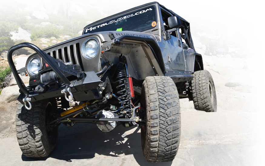 Tj Suspension on Cj7 Flat Fenders