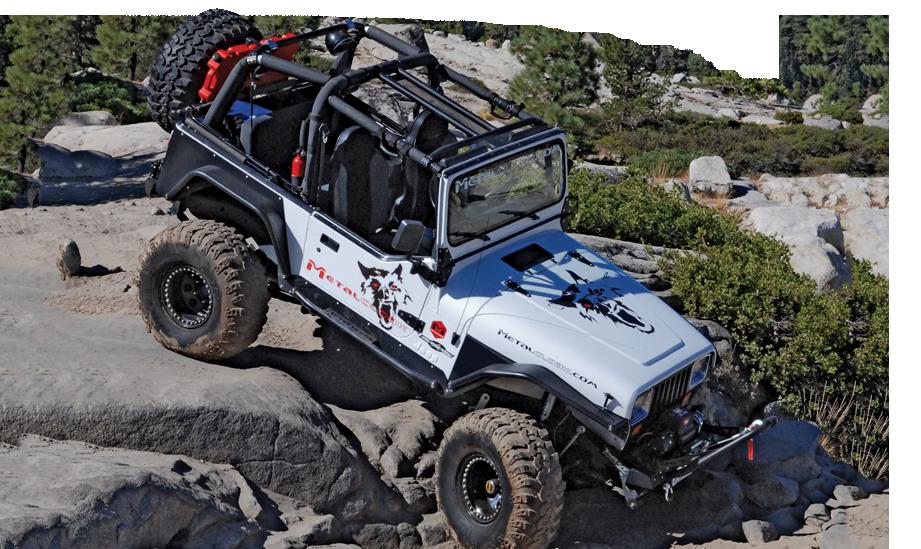 Jeep Yj Metalcloak Fenders