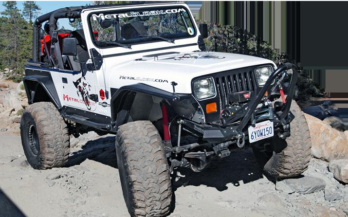 Jeep YJ Grill Hoop Offroad Jeep Wrangler Rock Crawler Winch Bumper DIY KIT