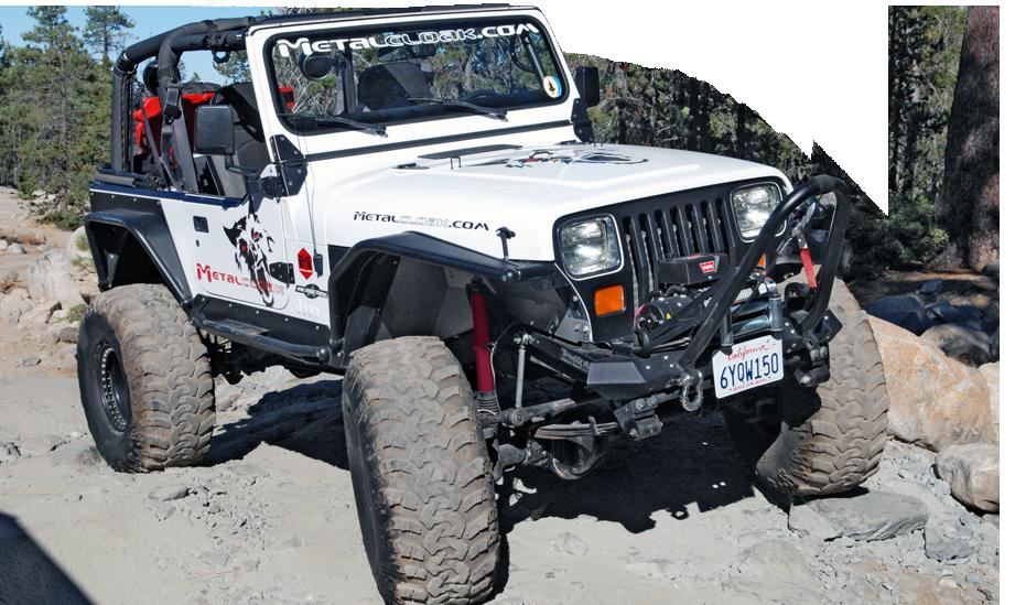 Jeep Yj Wrangler Frame Built Pers