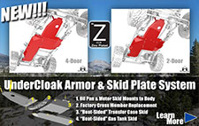 Undercloak armor and skid plate ststem thumbnail