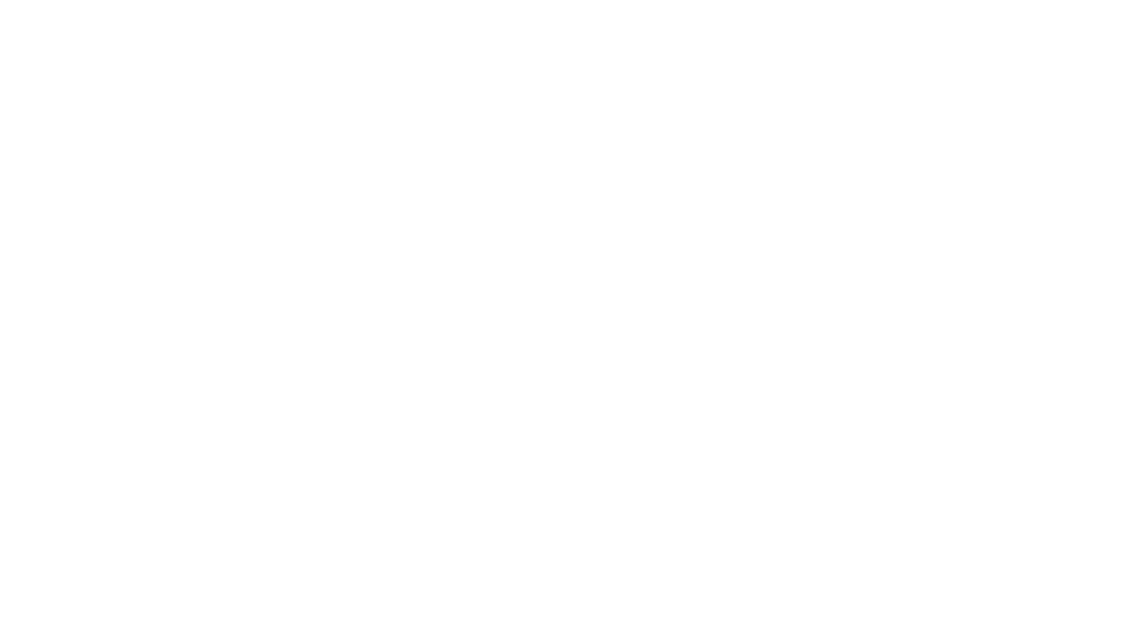 search magnifying glass icon white