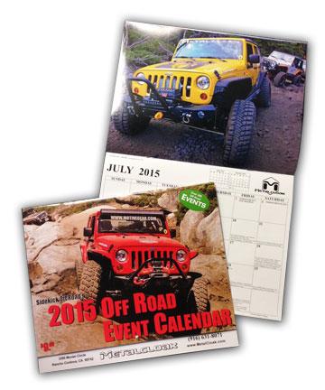 Sidekick Offroad Calendar