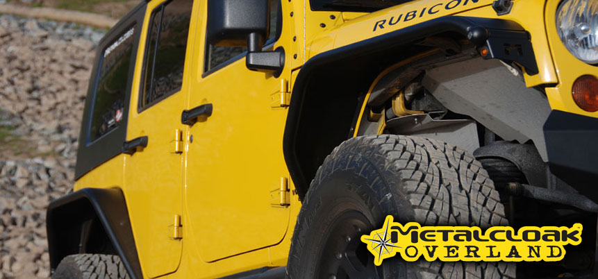 Metalcloak Overland Jeep Tube Fenders