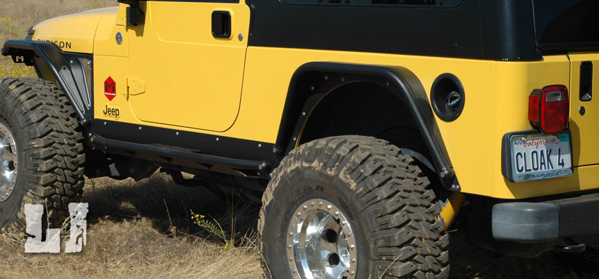 JK Wrangler Jeep Corner Guard