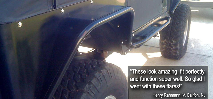 TJ Jeep Wrangler Corner Guard