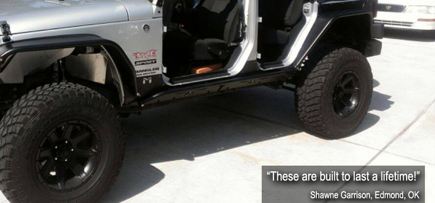 Gray Jeep without doors