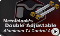 Double Adjustable Aluminum Control Arm Video