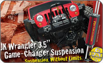 JK Wrangler Game-Changer suspension system