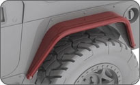 Jeep Corner Guard Protection