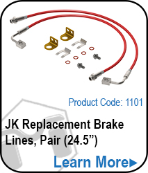 JK Replacement Brakelines