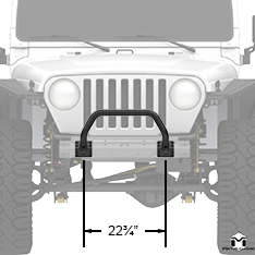 Winch Guard Front View