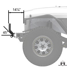 Winch Guard Side View