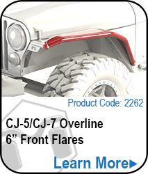 8in Overline Front Flare