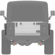 Front View Rear Rub Rails