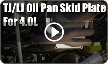 TJ Oil Pan Skid Plate Video