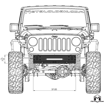 Front View Schematic
