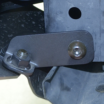 Reinforcement Bracket On Jeep