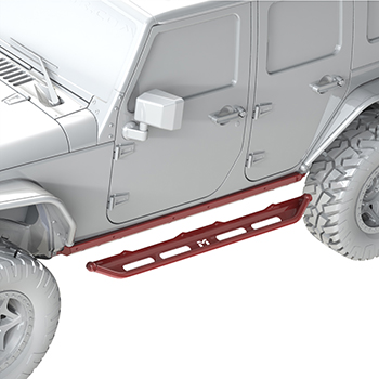 JK 2 Door Overland Rocker Step