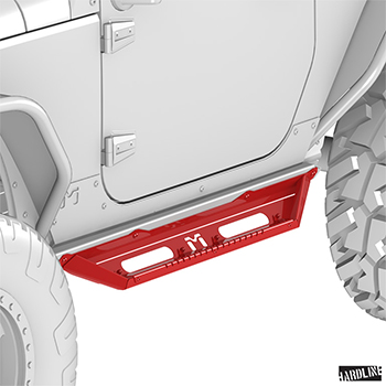 MetalCloak 2 Door Rocker Flip Step