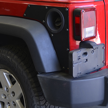 JK Wrangler Rear ExoSkin On Jeep