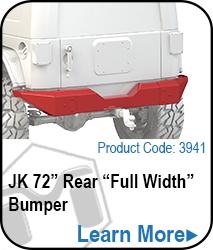 Rear Bumper 72 Full Width