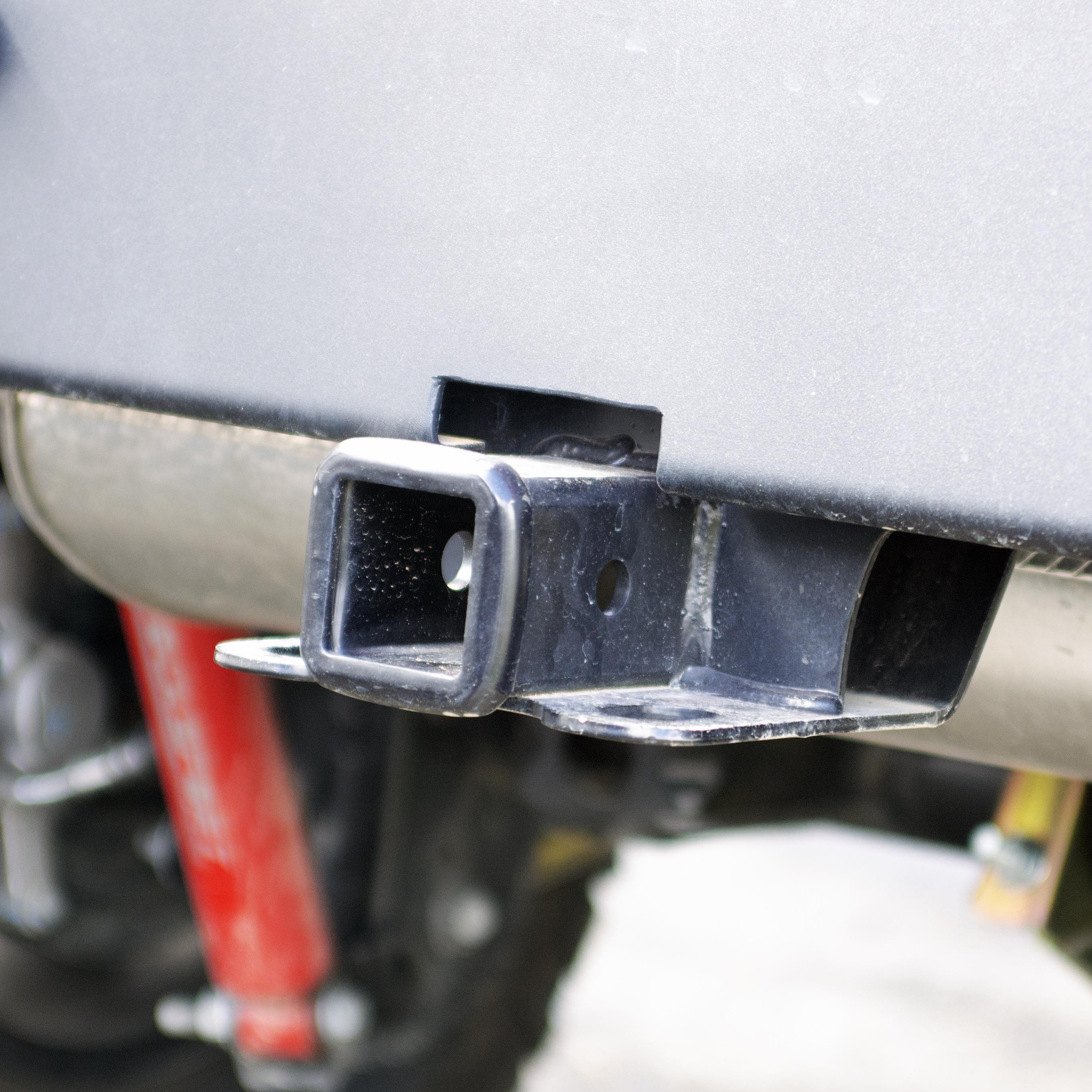 MetalCloak JL Wranger Full Width Rear Bumper Tow Hitch
