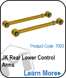 JK Lower Rear Control Arms