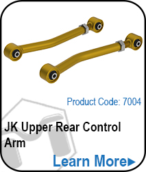JK Upper Rear Control Arms