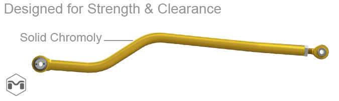 TJ Wrangler Hi Clearance Rear Track Bar