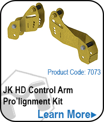 JK Control Arm Drop Bracket