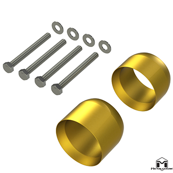 7078 Exhaust Spacer Kit
