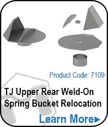 TJ Upper Rear Weld On Spring Bucket Relocation