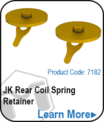 JKRear Stock Brake Line Relocation Kit