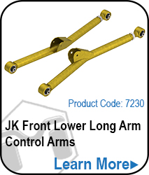 JK Front Lower Long Arm Control Arms