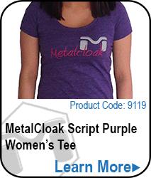 Script Purple Tee