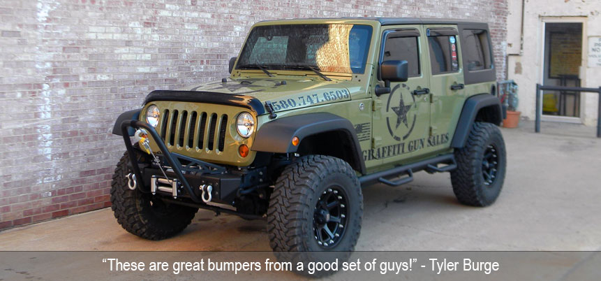 build your own rugged jeep frame built modular bumper. Black Bedroom Furniture Sets. Home Design Ideas