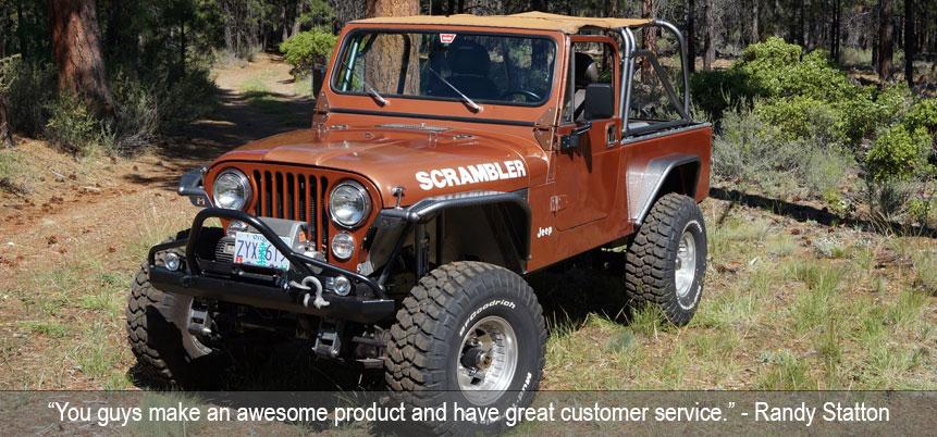 Jeep CJ-5 & CJ-7 Body Armor ('72-'86)
