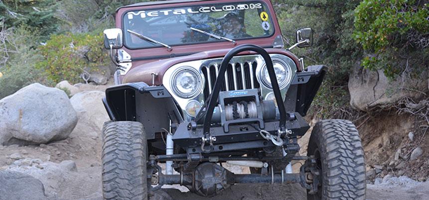 MetalCloak CJ Bumper