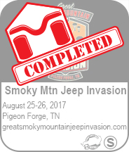 Smoky Mtn Jeep Invasion