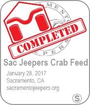 Sac Jeepers Crab Feed