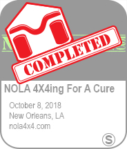 NOLA 4x4ing For A Cure