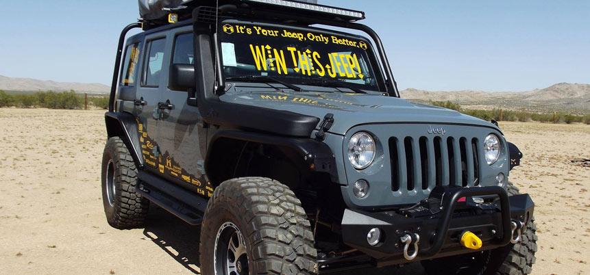Metalcloak Jeep Giveaway