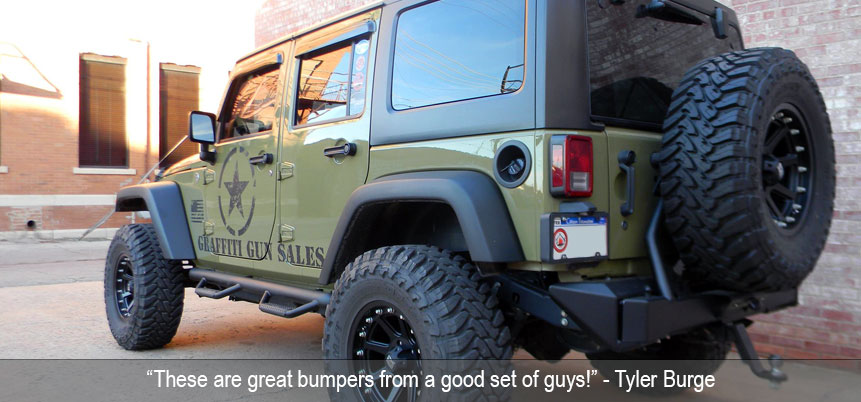 Tyler Burge Rear Bumper