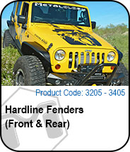 Hardline Fenders Press Release