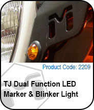 Dual Function LED Marker & Blinker Light Press Release