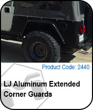 LJ Aluminum Extended Corner Guards Press Release